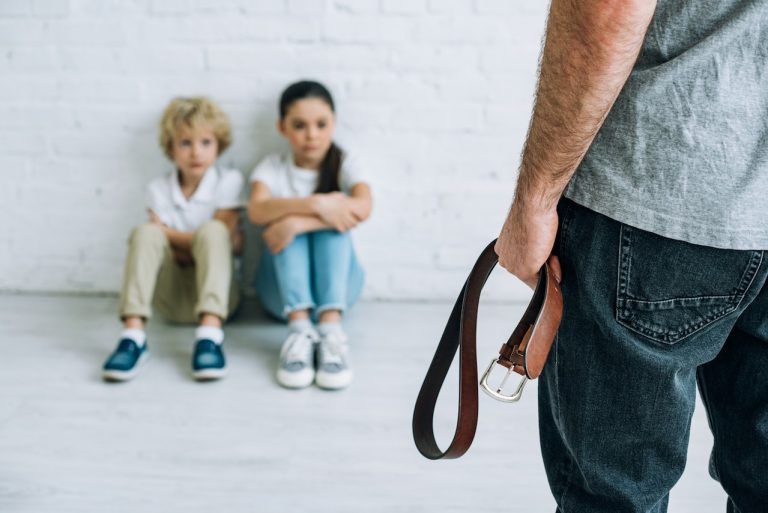 Children afraid of their father with a belt? Call a private investigator for child custody disputes.